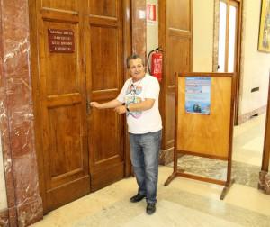 Nino Martorana ha assistito alla conferenza stampa in rappresentanza dei tifosi