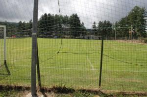 Una panoramica del campo intitolato al Barone Collice (foto Paolo Furrer)