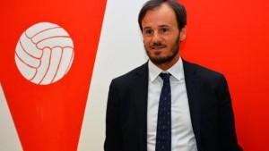 Il direttore sportivo del Varese Gabriele Ambrosetti