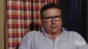 Pietro Lo Monaco nel video-messaggio che nel luglio scorso indirizzò all'Amministrazione Comunale