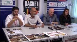 I vertici della Sigma Barcellona in conferenza stampa