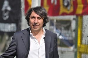 """L'ex presidente dell'ACR Messina Lello Manfredi, che con la sua """"Sud Dimensione Servizi"""" collaborerà all'organizzazione dei due concerti di Vasco Rossi e Jovanotti"""