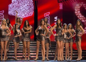 Un'immagine di Miss Italia nella scorsa edizione (www.missitalia.it)
