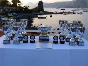 Le coppe del 1° Trofeo Mari del Sud