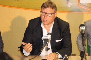 Il patron dell'ACR Messina Pietro Lo Monaco