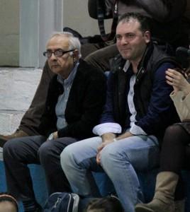 Il presidnete Mauro omodei e l'ellenatore