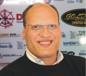 Il presidente del Milazzo Salvatore Costantino