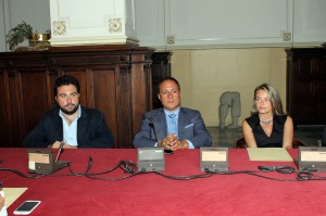 Gaetano Majolino, Filippo Romano e Valeria Leone