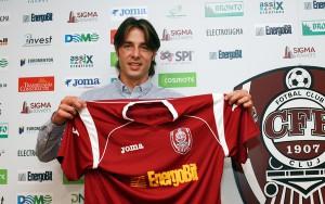 Sasa Bjelanovic in occasione della sua esperienza rumena al Cluj