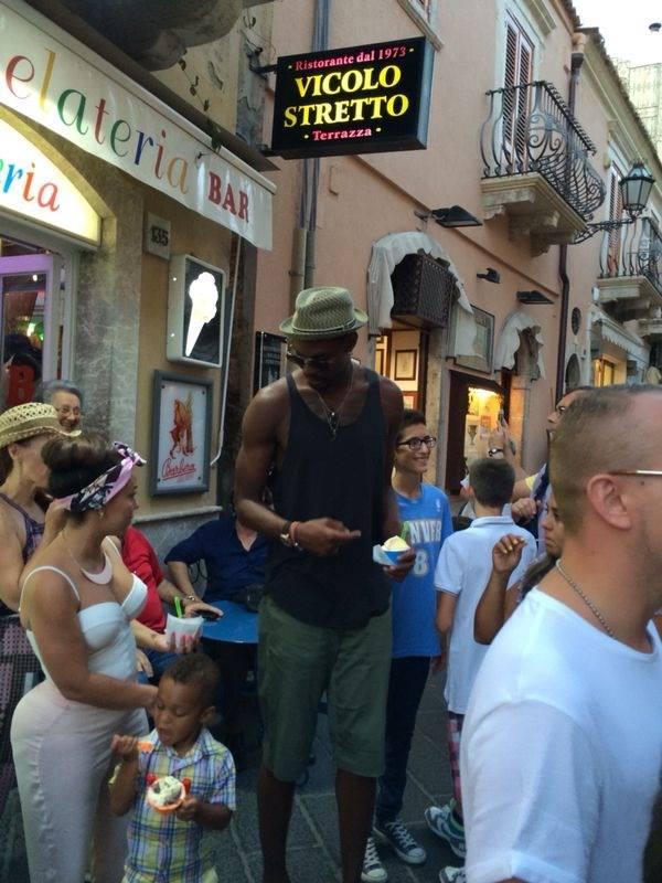 Chris Bosh a Taormina