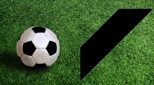 calcio e lutto