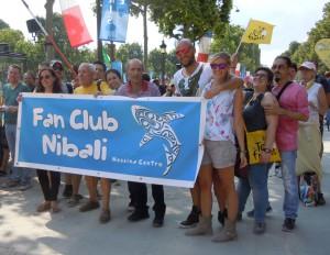 Tifosi di Nibali a Parigi