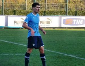 Il talento della Lazio Enrico Zampa. Seguito a lungo dal Messina, si è accasato al Trapani in serie B