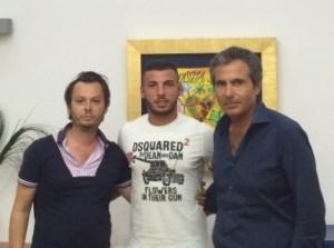 L'ex giallorosso De Vena, subito in gol con l'Aversa