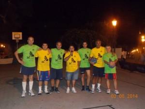 I partecipanti alla quarta edizione della 24 ore di basket Memorial Ernesto Zappia