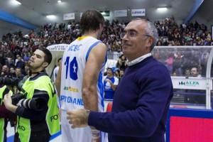 Il patron Enzo Sindoni ha festeggiato il ritorno in serie A dopo sei stagioni