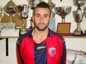 Andrea Fleri del Città di Messina, qui con la maglia del Città di Milazzo nella scorsa stagione