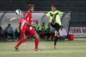 Il match ha segnato l'esordio in giallorosso del centrocampista Damonte