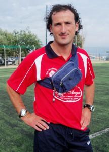 L'allenatore Giancarlo Fichera (scatto di R.S.)