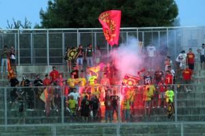 I tifosi del Messina al seguito