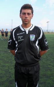 Maurizio Mangano nel settembre 2010, con la maglia del Garden Sport (scatto di R.S.)