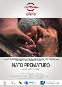 """La locandina del documentario """"Nato prematuro"""""""