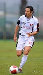 Ancora il 30enne difensore romano in azione con la seconda maglia della Salernitana