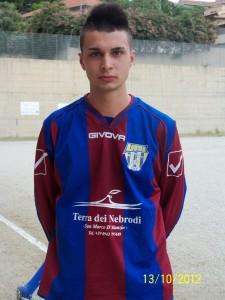 L'attaccante classe '95 Maicol Romeo (scatto di R.S.)