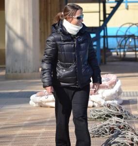 Silvia Bosurgi a bordo vasca: in questi anni per lei anche l'esordio in panchina, alla guida di giovani promesse