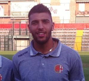 Simone Ciancio ai tempi dell'Alessandria, con cui ha disputato due tornei di C1 ed altrettanti di C2