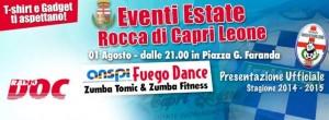 Evento presentazione squadra Rocca di Caprileone