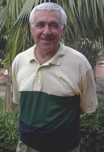 Lo storico segretario del Camàro Gaetano Fazzio (scatto di R.S.)