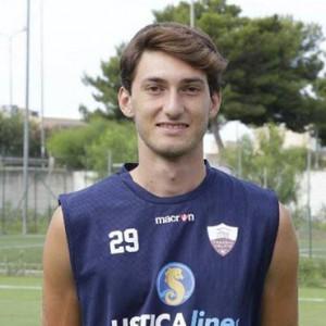 L'attaccante Giorgio Cicirello ha vissuto un'esperienza anche nelle giovanili del Trapani