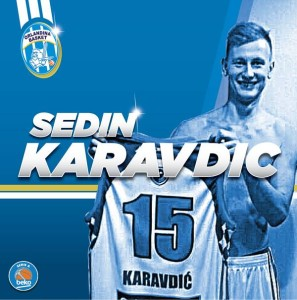Il giovane lungo sloveno Sedin Karavdic, colpo in prospettiva dell'Orlandina Basket