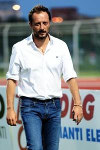 Il direttore sportivo giallorosso Fabrizio Ferrigno (foto Matteo Papini-Paolo Furrer)