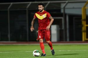 Il centrocampista Saro Bucolo
