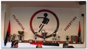 """La """"bacheca"""" della Polisportiva Umbertina, organizzatrice del torneo"""