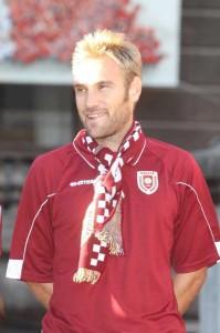 Mirko Stefani ai tempi della Reggiana