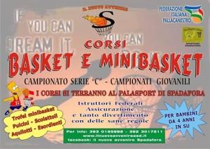 I corsi Minibasket delNuovo Avvenire Spadafora