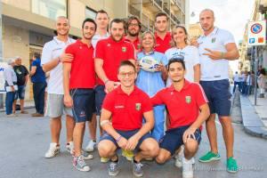 I giocatori dell'Amatori Rugby Messina
