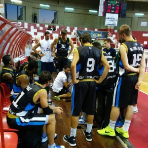 Un time out dell'Upea Orlandina