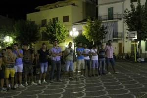 La prima squadra si è presentata alla città nella consueta serata in piazza