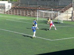 Una fase del match tra Due Torri e Agropoli
