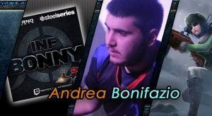 """Andrea """"Bonny"""" Bonifazio svelerà i suoi trucchi agli appassionati"""