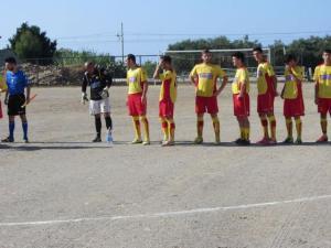 Alcuni calciatori del Sinagra