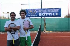 Antonio Barbera (CTV Messina) ed Emanuele La Spada (TC Curcuraci)
