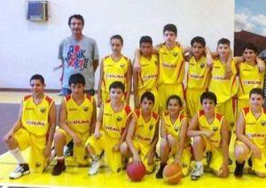 La formazione del Basket Barcellona