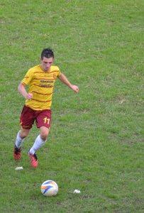 Calogero in azione (foto Omar Menolascina)