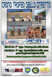 """La locandina della """"Crono Trofeo dello Stretto"""""""
