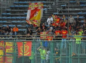 Serata amara per i tifosi del Messina presenti a Pagani